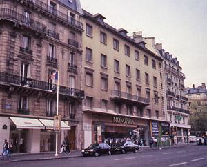 Leonard pitt ugly paris buildings - Monoprix boulevard saint germain ...